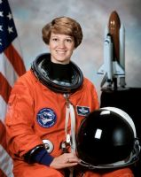 "NASA Astronaut Eileen Collins 8""x10"" Full Colour Portrait #2"